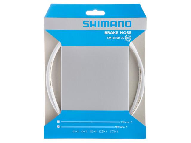 Shimano SM-BH90-SS Bremsleitung weiß